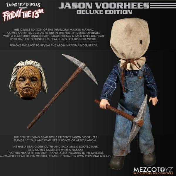 Living Dead Dolls Jason Friday the 13th Part 2