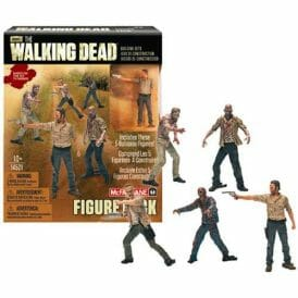 The Walking Dead McFarlane Construction 5 Figure Pack