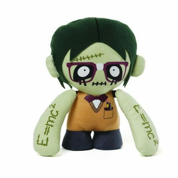 """GUND Zombie Nerd Plush 8"""""""