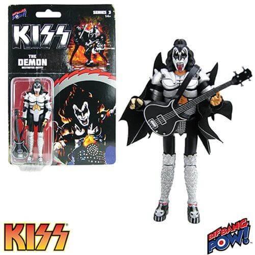"Kiss Destroyer The Demon 3.75"" Action Figure"