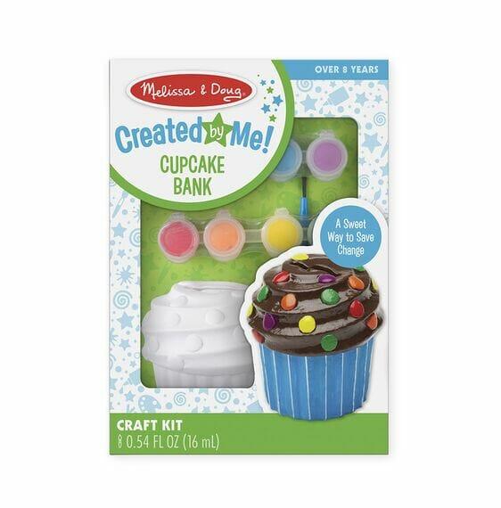Melissa and Doug Created by Me Cupcake Bank Craft