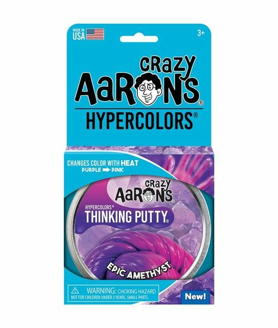 Crazy Aaron's Thinking Putty Epic Amethyst Hyper 4