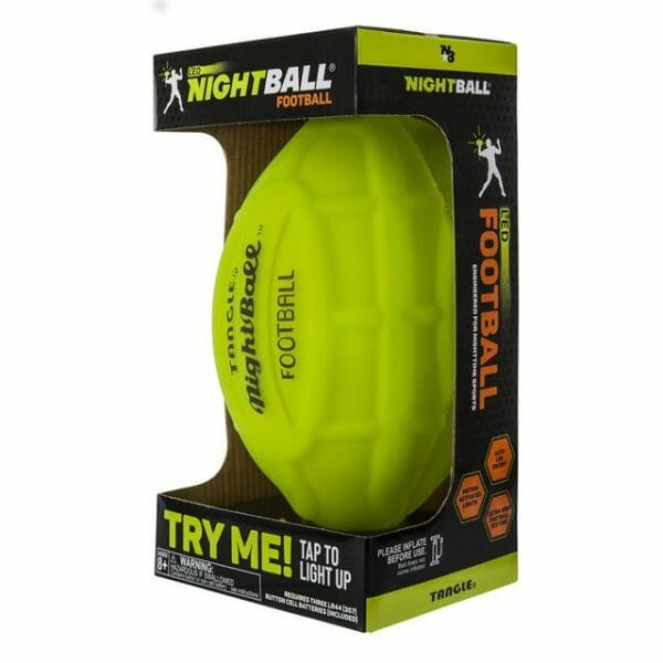 Nightball Football by Tangle - Green