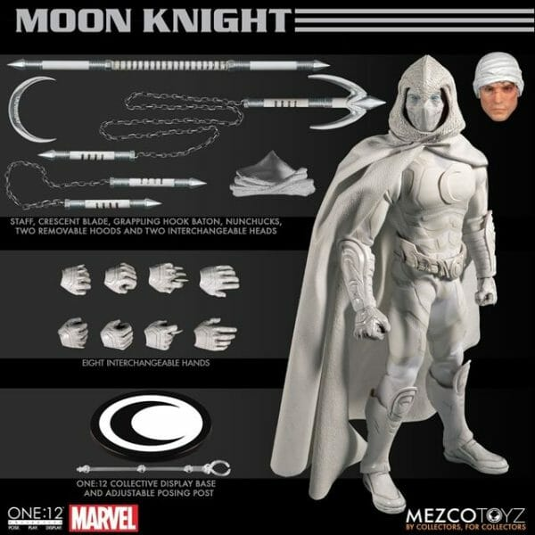 1:12 Scale Moon Knight Collective Mezco