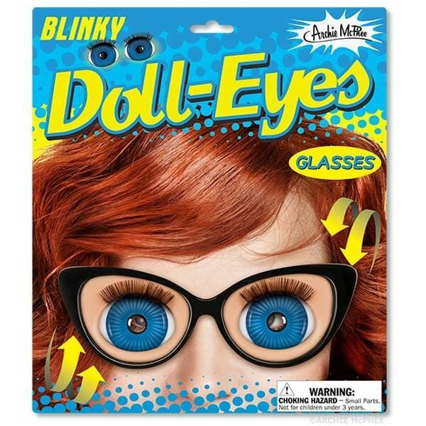 Blinky Doll Eyes Glasses by Archie McPhee