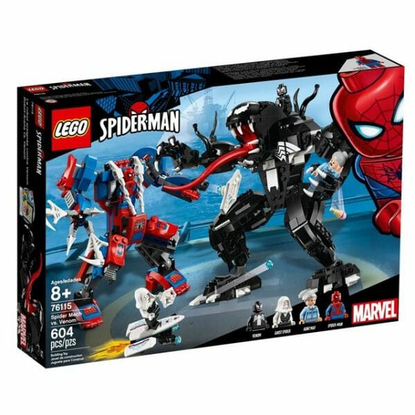 LEGO Spider-man Spider Mech vs. Venom 76115