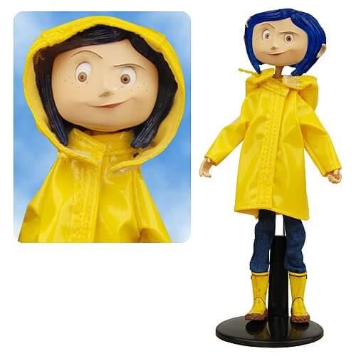 Coraline Bendy Fashion Doll Rain Coat