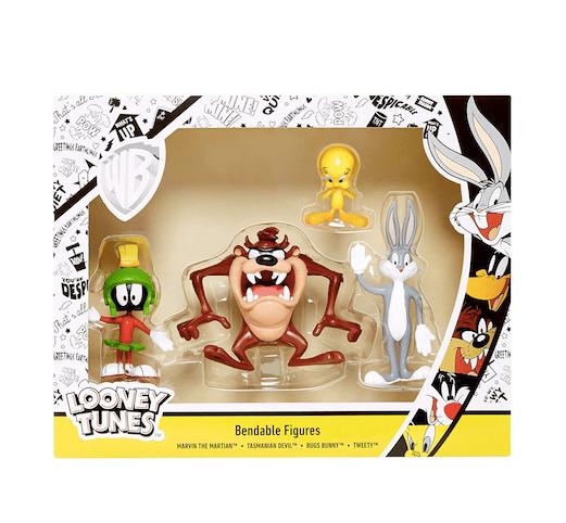 Looney Tunes Bendable Figure Set