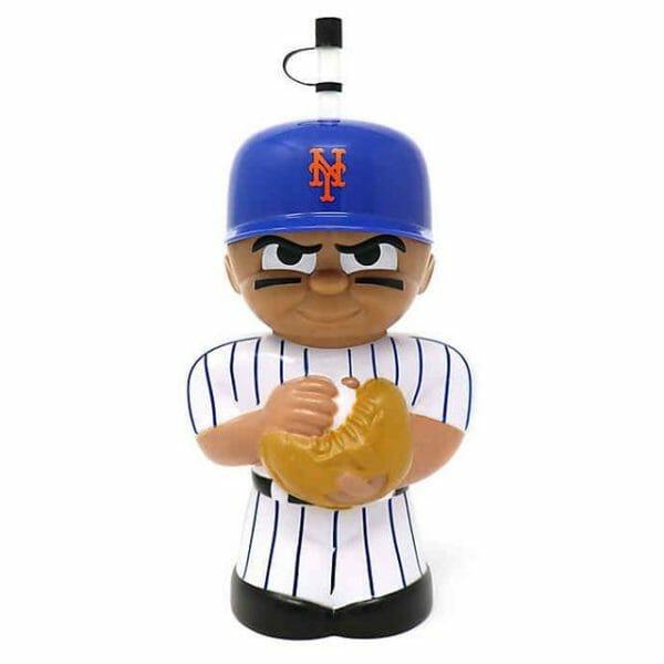 Big Sip MLB New York Mets 16 oz. Water Bottle